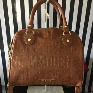 Steve Madden  Cognac Color Purse 👜
